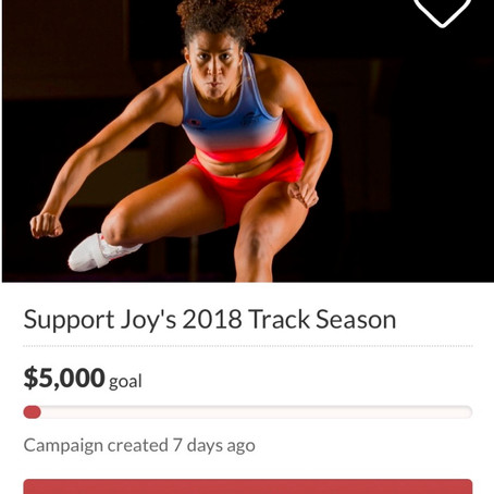 GoFundMe for 2018 Season