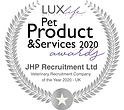 Pet Product and Sevices Awards Winner