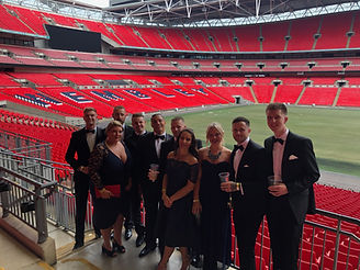 Vet team at Wembley