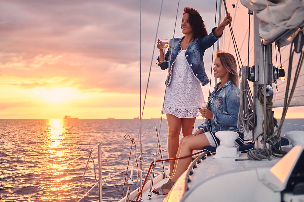 female-friends-relaxing-on-the-yacht-dur