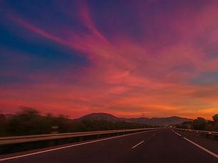 pinpurple sunset