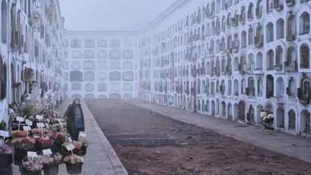 La donna che vendeva i fiori al cimitero