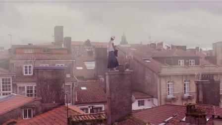 La cinese cordobesa sui tetti di Santiag