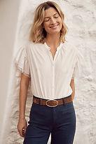 vanessa bruno blouse robinson 100% coton