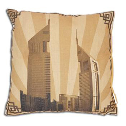 EMIRATES TOWERS CUSHION COVER
