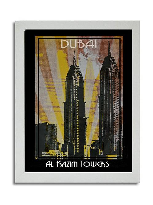 AL KAZIM TOWERS DIGITAL SCREEN PRINT