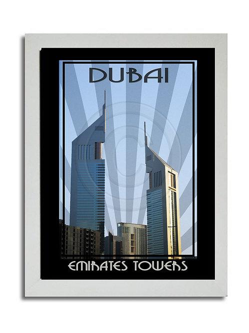 EMIRATES TOWERS PRINT