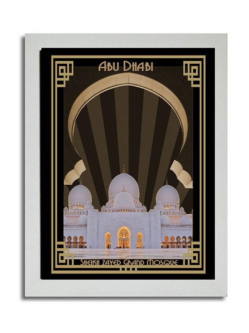 SHEIKH ZAYED GRAND MOSQUE ABU DHABI (COLOUR)