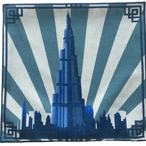 BURJ KHALIFA CUSHION COVER