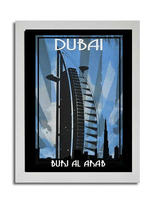 BURJ AL ARAB DIGITAL SCREEN PRINT
