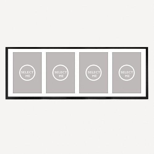 Pick your own 4 x 4 POSTCARD SCREEN PRINTS
