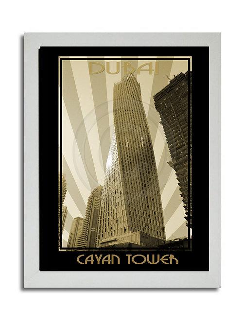 CAYAN TOWERS PRINT