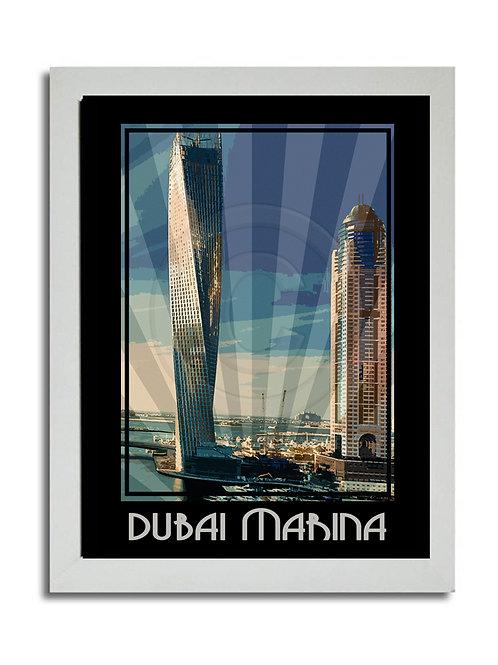DUBAI MARINA PRINT