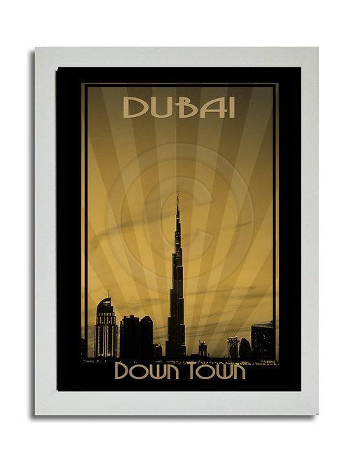 DUBAI DOWNTOWN PRINT
