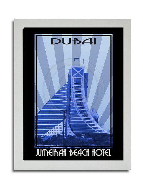 JUMEIRAH BEACH HOTEL PRINT
