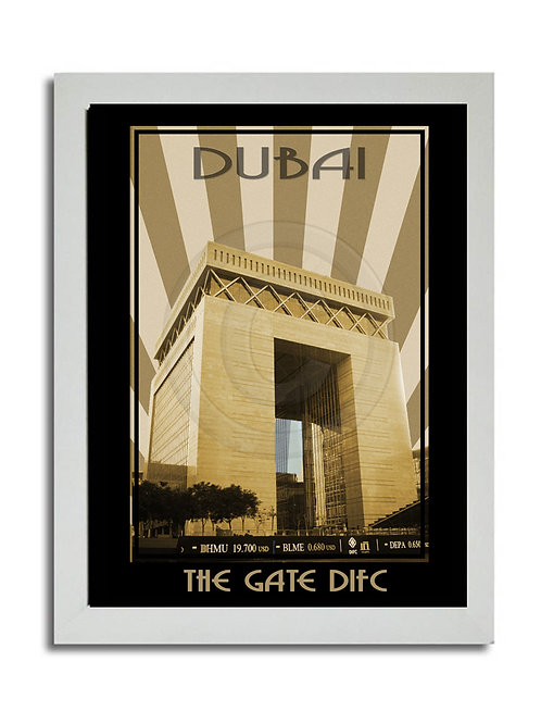 THE GATE PRINT