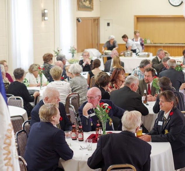 Remembrance Day Banquet - 2014