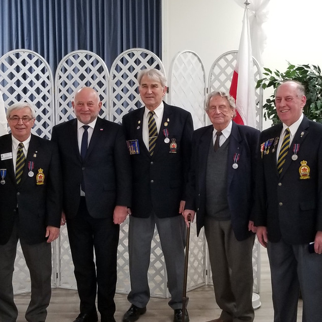 Pro Patria Medal Ceremony