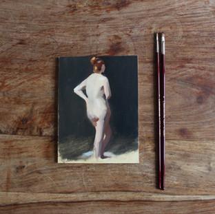 8 x 6 ins Nude Study