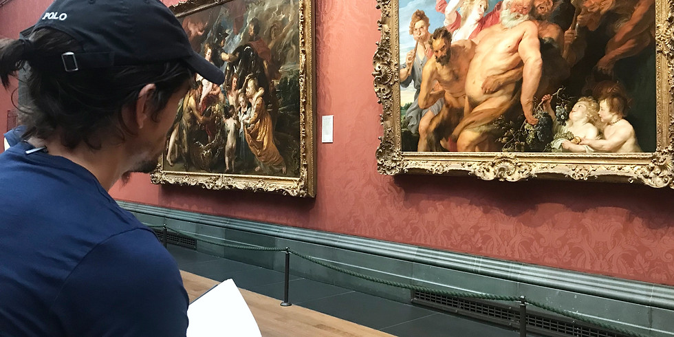 A Half or Full-Day Drawing from Old Masters in the National Gallery