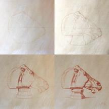Nichola's Bargue Copy of Plate 1, 37