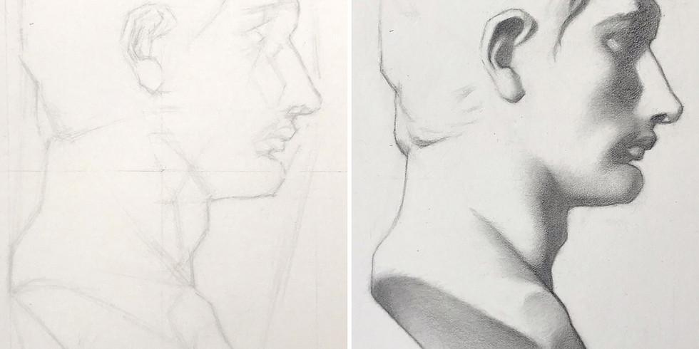 Live Online Bargue Drawing Classes