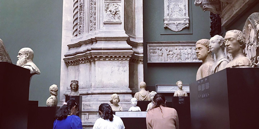 A Half or Full-Day Portrait Drawing Workshop in the V&A