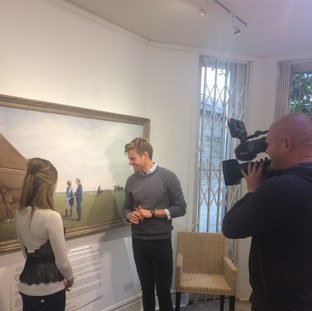 Interview with At The Races at the Osborne Studio Gallery