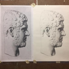 Nick Majesky's Bargue Drawing from 1-1 Live Online lessons