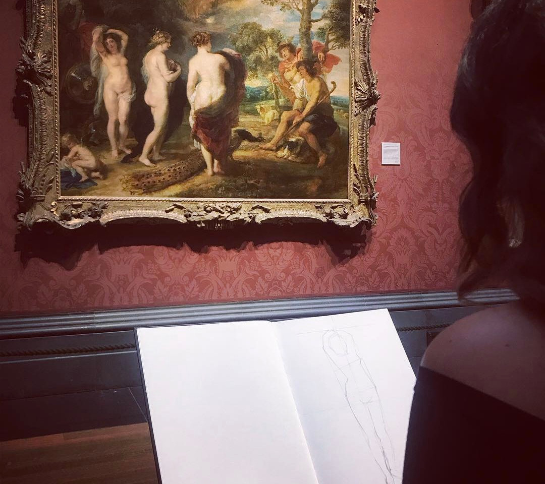 Student's Work, National Gallery