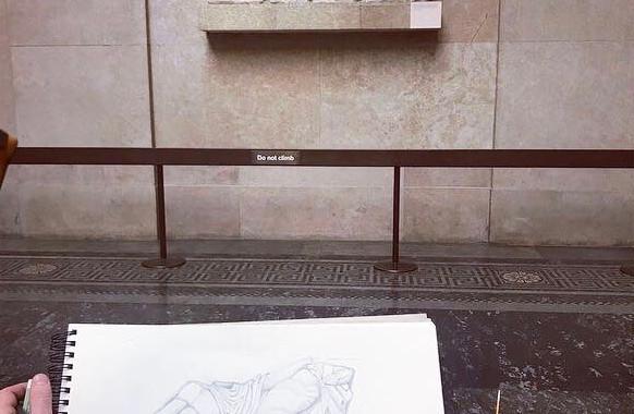 Student's Work, British Museum