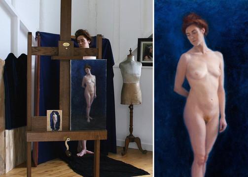 Figure Painting of Jess