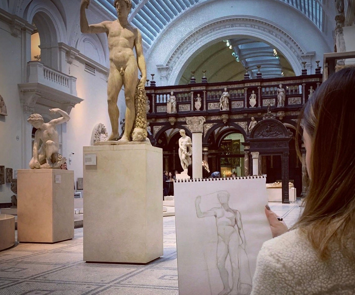 Student's work, V&A
