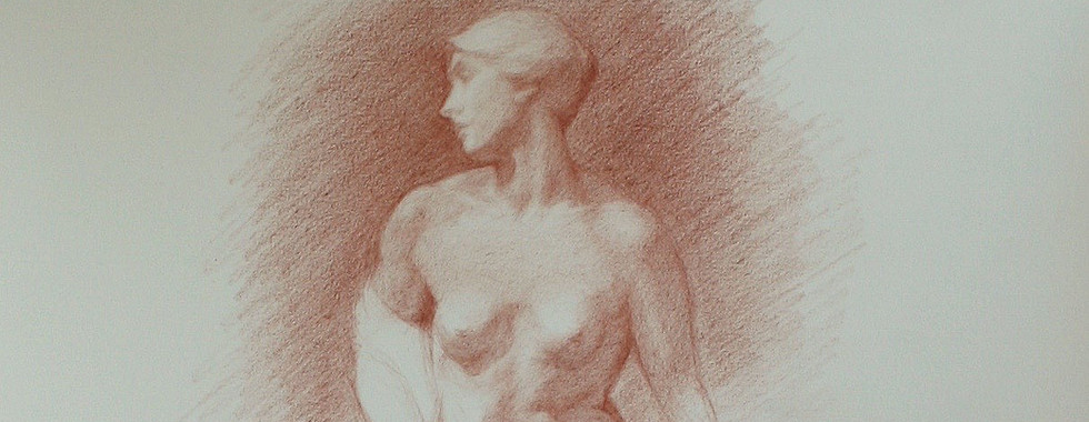 Study of 'The Bather', V&A
