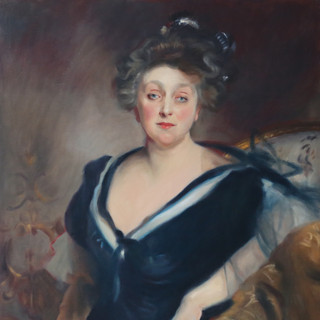 A copy of Sargent's Mrs.  George Mosenthal
