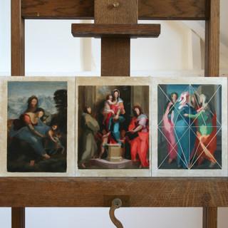Transcriptions after Da Vinci, Del Sarto and Pontormo