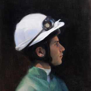 Head Study of a Jockey