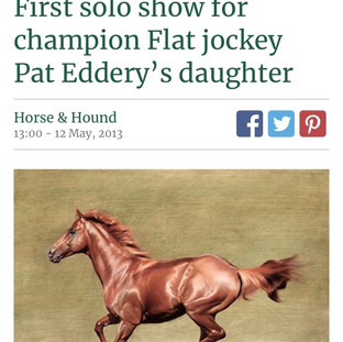 An Article in the Horse & Hound 2013