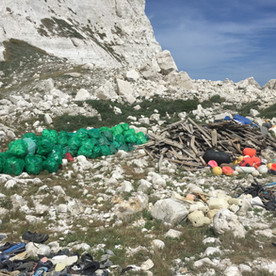 Mountains of rubbish
