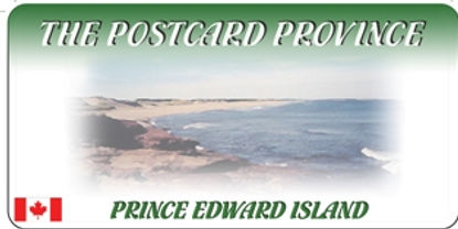 PRINCE EDWARD ISLAND LICENSE PLATE