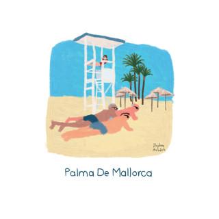The Beach of Palma De Mallorca