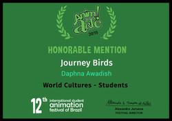 Honorable Mention_Anim!Arte_Journey Birds