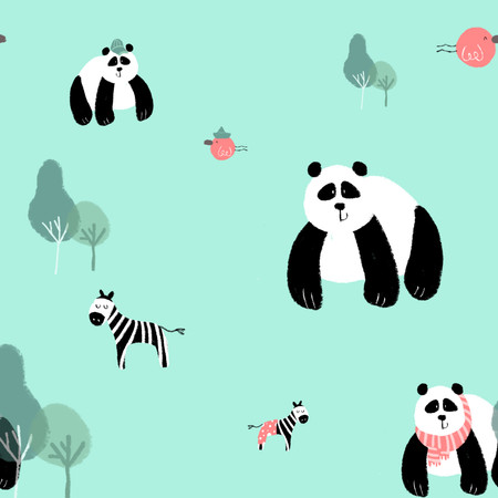 Smichi- Illustrated textile