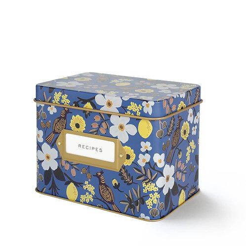 capri recipe tin box