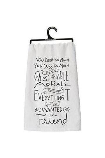 Dish Towel- Morals