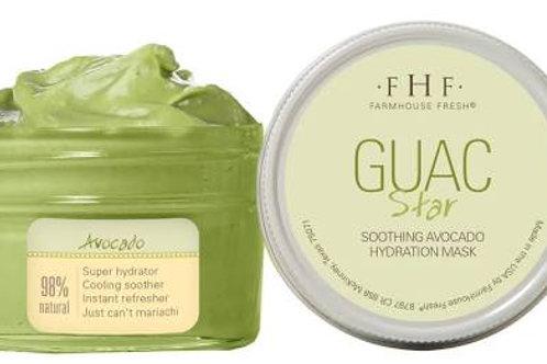 Guac Star-Soothing Avocado Hydration Mask