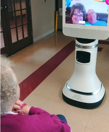 Ava Robotics + Webex: Enabling meaningful visitation for long term care residents