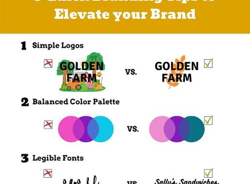 3 Quick Branding Tips