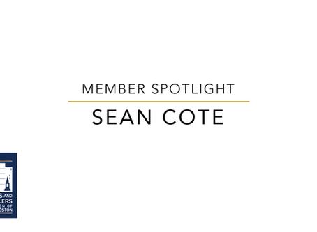 Member Spotlight: Sean Cote