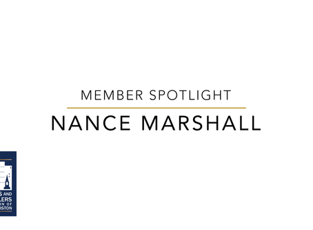 Member Spotlight: Nance Marshall